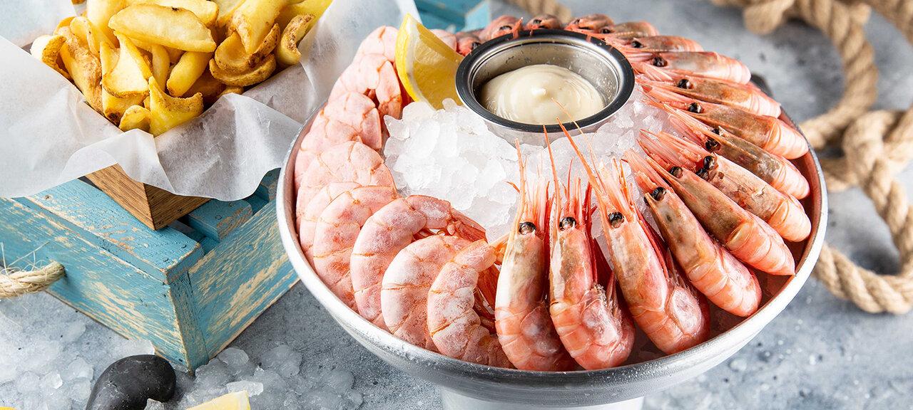 «Рыбные рестораны: где есть морепродукты, устриц икрабов» фото материала