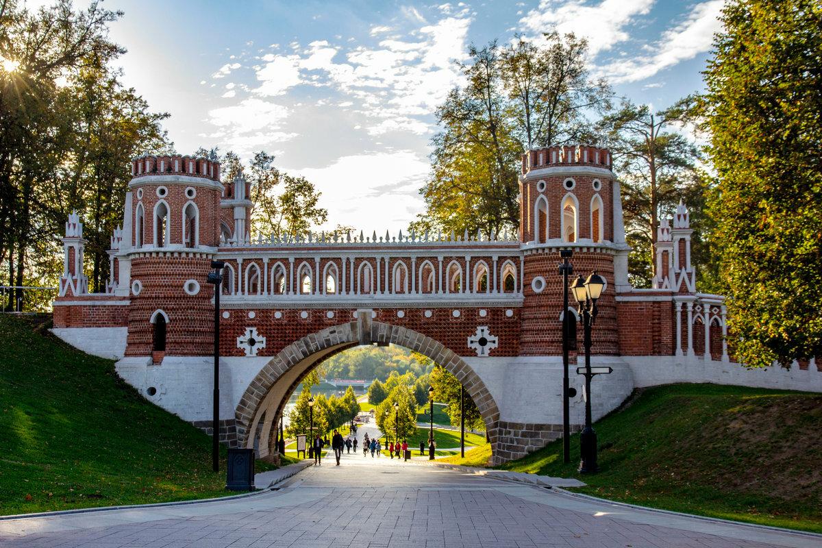 фото парка царицыно в москве весьма