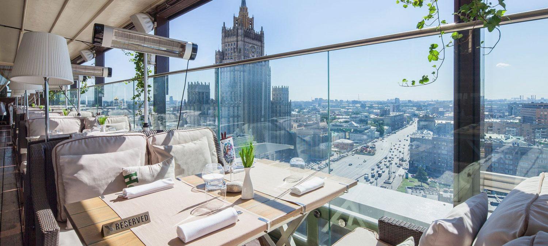 «Панорамные рестораны Москвы» фото материала