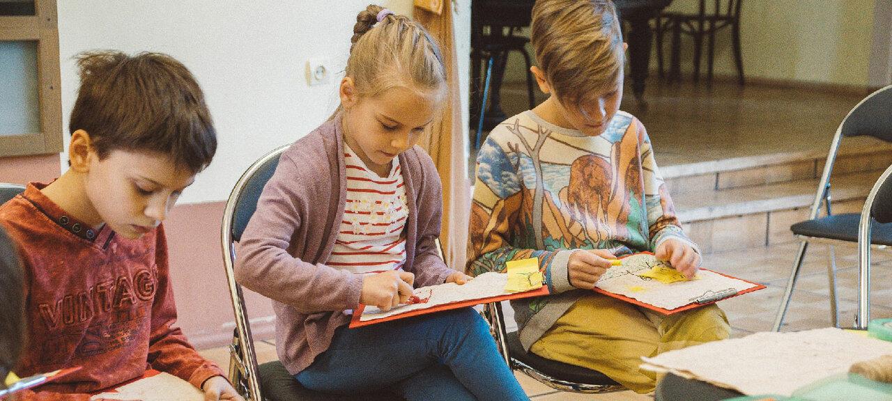 «Детские кружки изанятия» фото материала