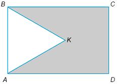 На рисунке изображен прямоугольник ... и равносторонний треугольник ..., периметры которых соответственно равны ... см и ... см. Найдите периметр пятиугольника ....