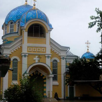Orthodox cathedral of the Dormition of Our Lady in Makhachkala