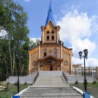Lutheran church in Tomsk