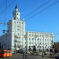 Death Tower (administrative building), Perm