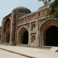 Jamali Kamali Mosque and Tomb