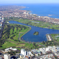 Albert Park and Lake