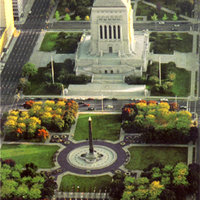 Indiana World War Memorial Plaza
