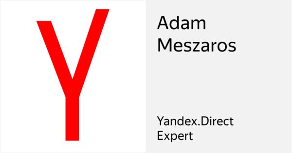 Adam Meszaros - Certified specialist