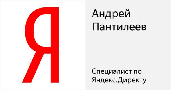 Андрей Пантилеев - Сертифицированный специалист