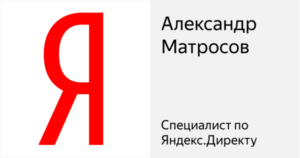 Александр Матросов - Сертифицированный специалист