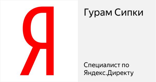 Гурам Сипки - Сертифицированный специалист