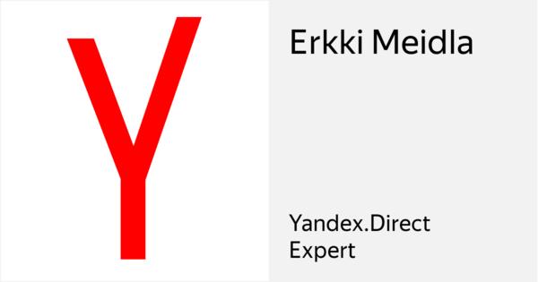 Erkki Meidla - Сертифицированный специалист