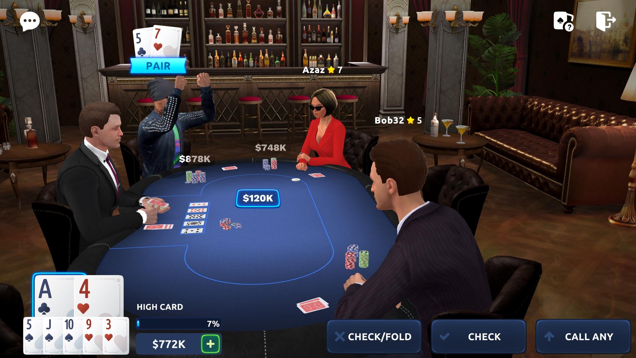3d покер онлайн