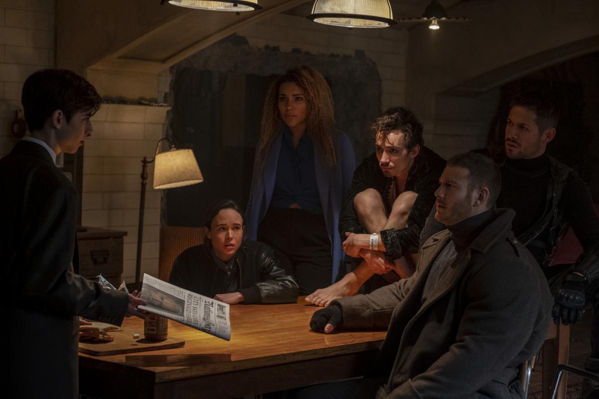 Академия 'Амбрелла' (2019, сериал, 2 сезона) — Тизер-трейлер ...