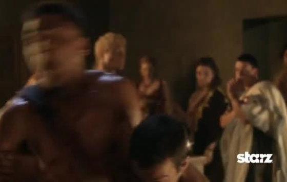 Секс Сцена С Дженной Линд – Спартак: Война Проклятых (2013)