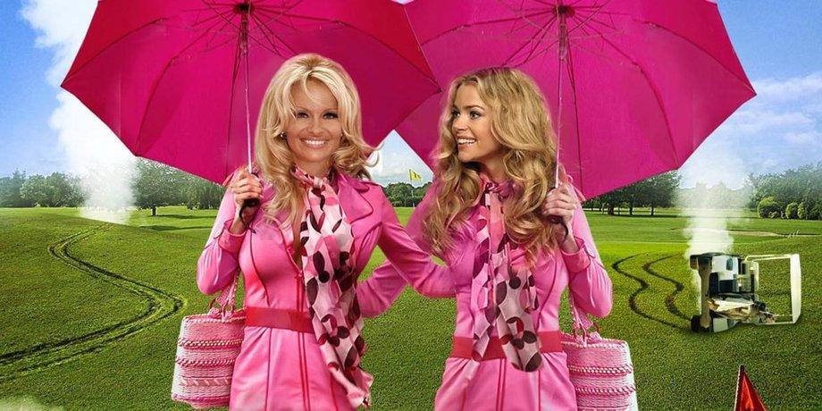Блондтнка и блондинка