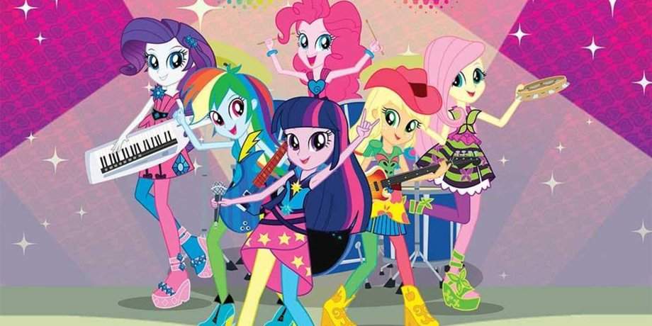 фото девушек эквестрии радужный рок