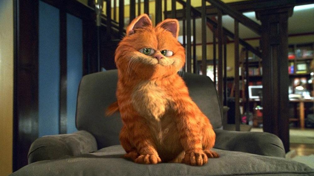 Кот гарфилд мультфильм смотреть онлайн