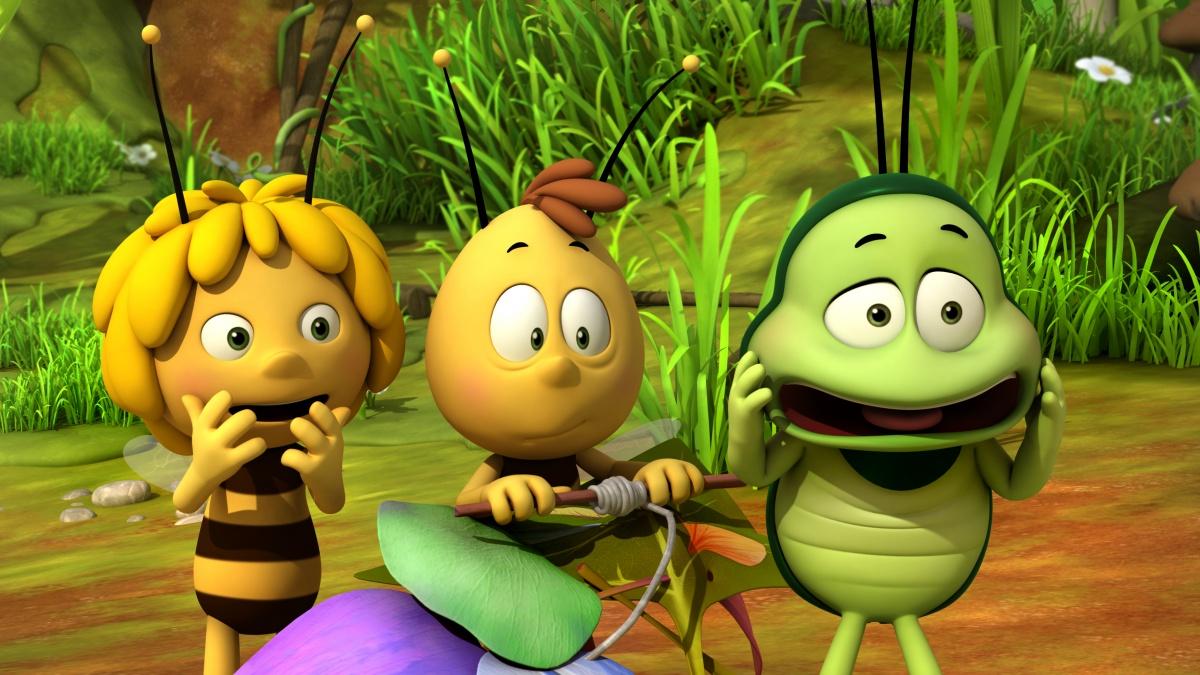 Приключения пчелки майи с картинками