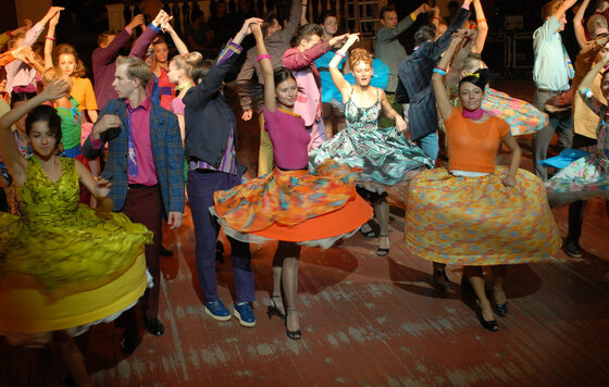 Зажигательный Танец Ольги Куриленко – Город Мечты (2012)