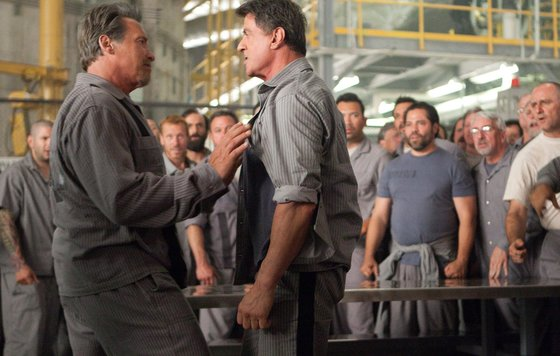 Как называется фильм про тюрьму со сталлоне и шварценеггером игры губка боб ищет гэри