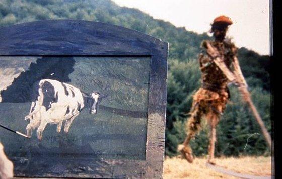 Фильм в котором был секс под коровой