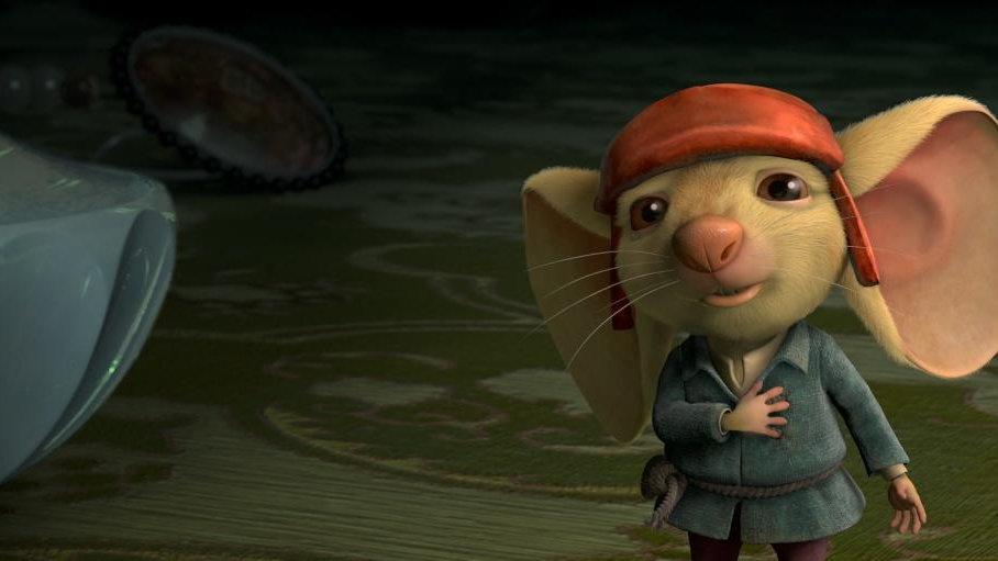 Мышонок десперо книга скачать