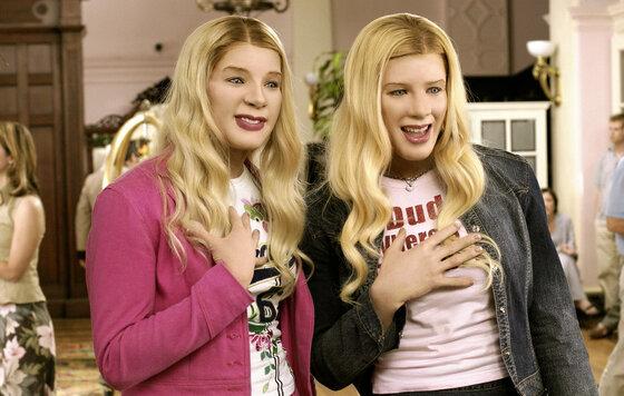 Негры и есть те девушки блондинки в фильме белые цыпочки