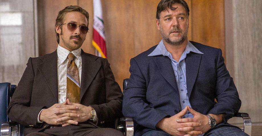 «Славные парни»: Кроу и Гослинг ломают руки и комедию