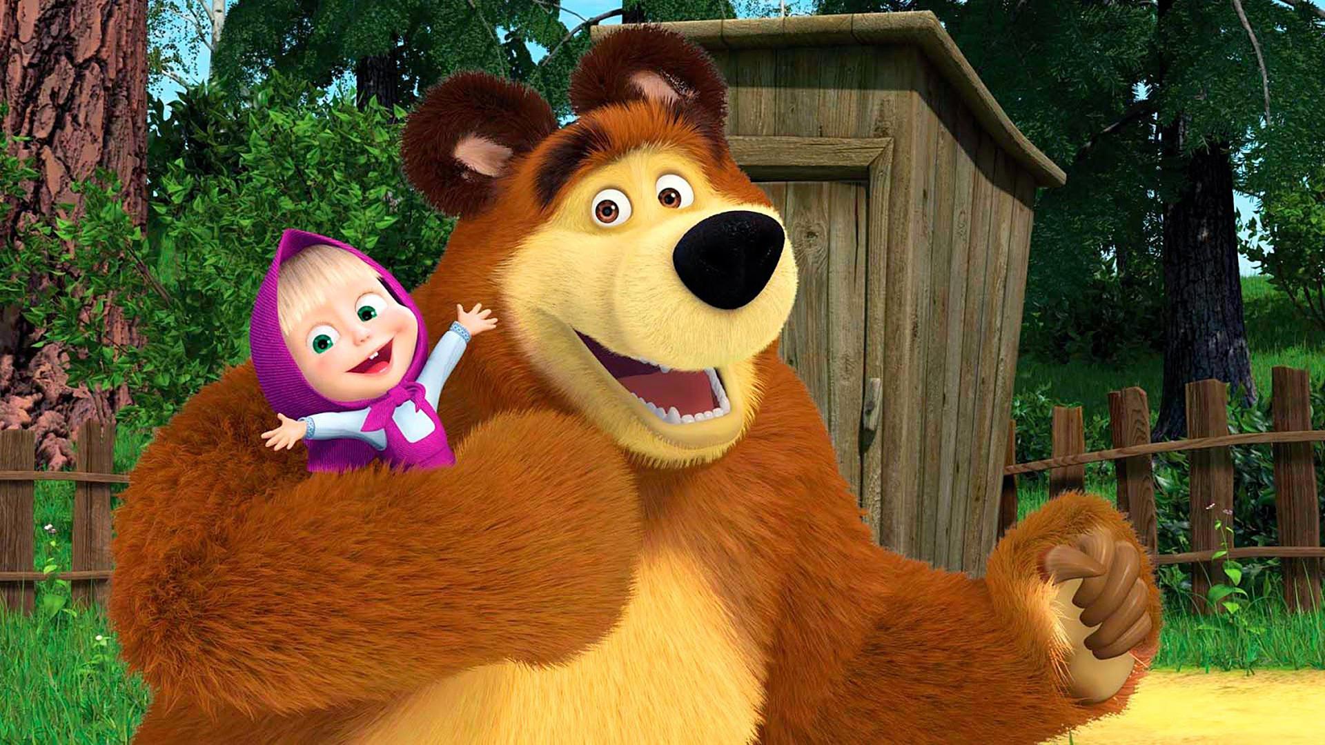 задача картинка маша и медведь хорошего разрешения обычное тесто для