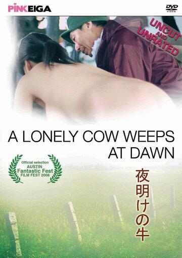 Одинокая корова плачет на рассвете
