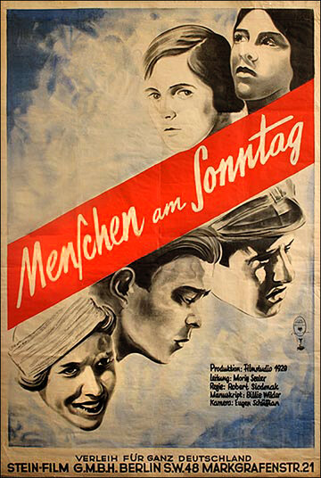 Люди в воскресенье (1930) полный фильм онлайн