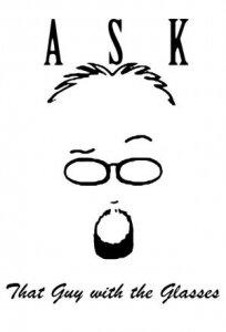 Спроси того парня в очках