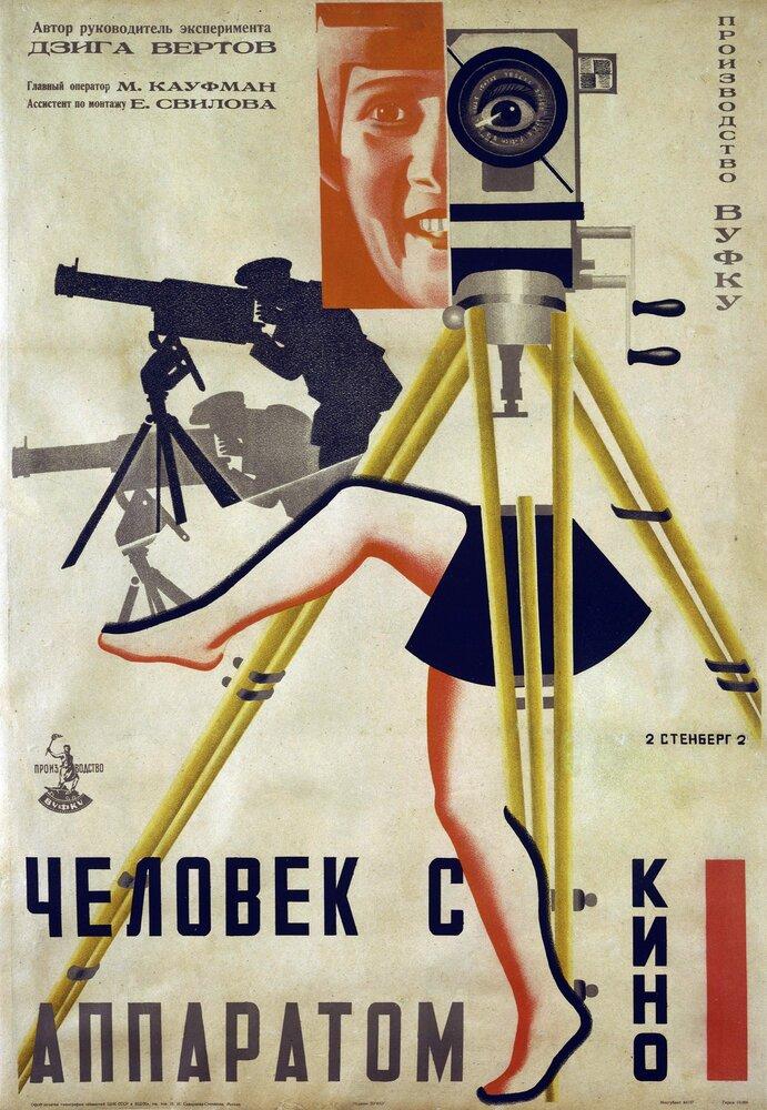 Посте Человек с киноаппаратом