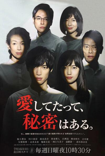 Я тебя люблю, но у меня есть секрет / Aishite tatte, himitsu wa aru (2017)