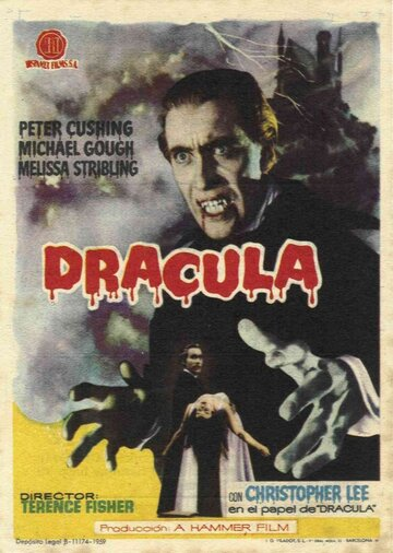 Дракула (1958) полный фильм онлайн