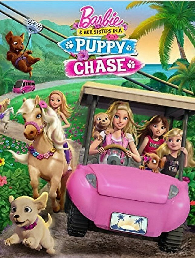Барби и её сестры в погоне за щенками / Barbie & Her Sisters in a Puppy Chase (2016)