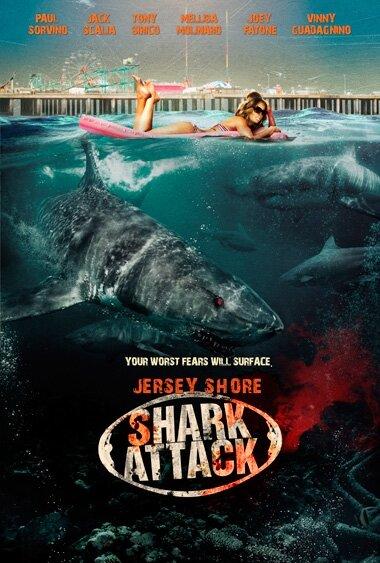Нападение акул на Нью-Джерси (2012) смотреть онлайн HD720p в хорошем качестве бесплатно