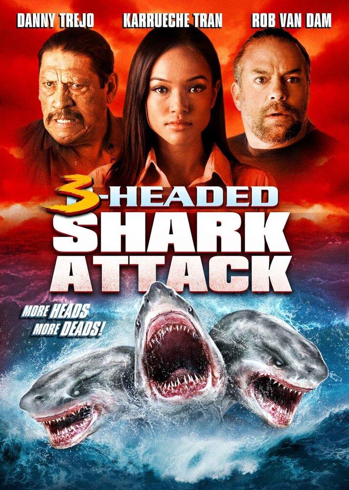 საშიშროება სიღრმიდან 2   3 Headed Shark Attack,[xfvalue_genre]