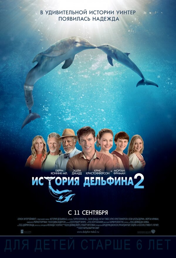 Отзывы к фильму – История дельфина 2 (2014)