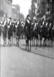 Президент МакКинли с эскортом едет в Капитолий (1901) полный фильм