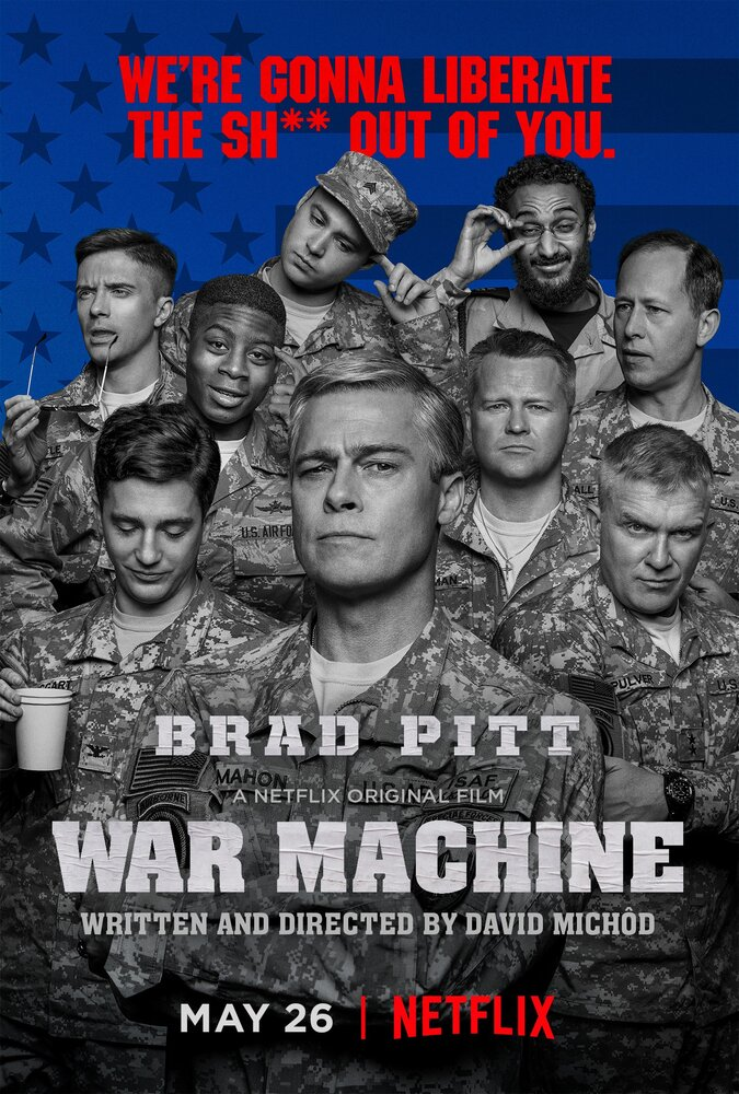 Машина войны / War Machine (2017)