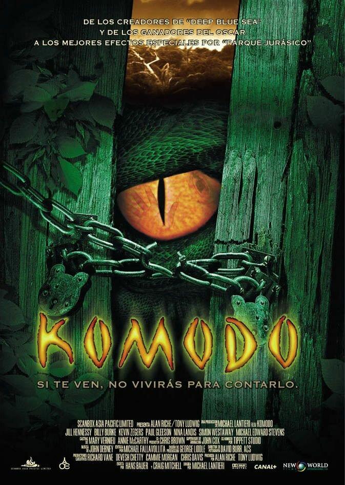 Комодо. Остров ужаса / Komodo. 1999г.