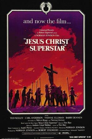 Иисус Христос — Суперзвезда (Jesus Christ Superstar), мюзикл в кино.
