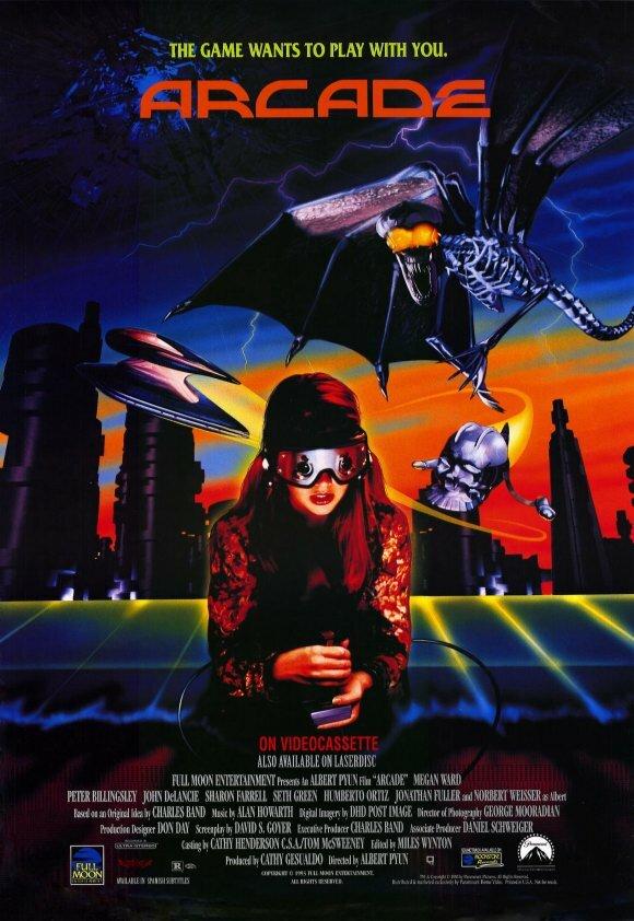 Аркада / Arcade (Альберт Пьюн / Albert Pyun) [1993, США, ужасы, фантастика, VHSRip] AVO (Володарский)