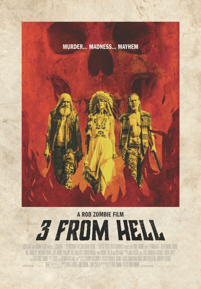 Трое из ада / Three from Hell. 2019г.
