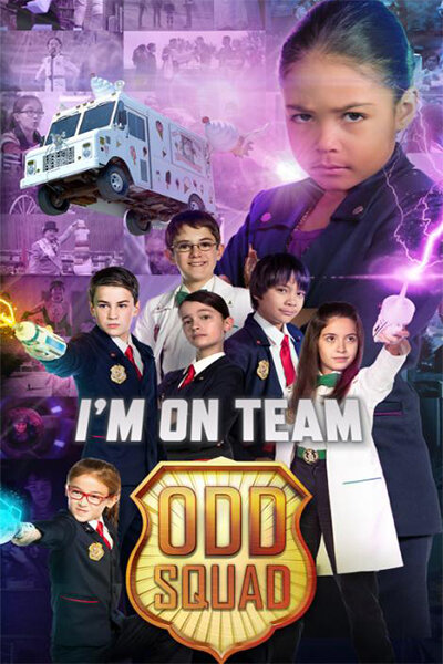 Отряд ребят / Odd Squad: The Movie (2016)