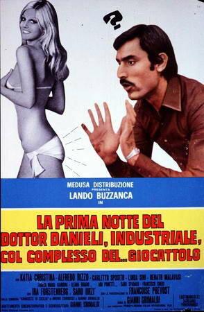 Первая ночь доктора Даниэли, промышленника с комплексом... инфантильности (1970)