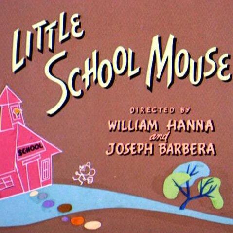 Мышонок в школе