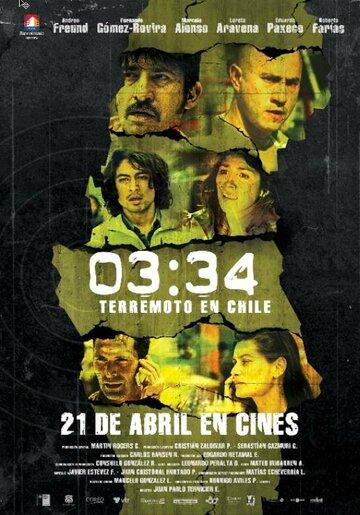 03:34 Землетрясение в Чили 2011